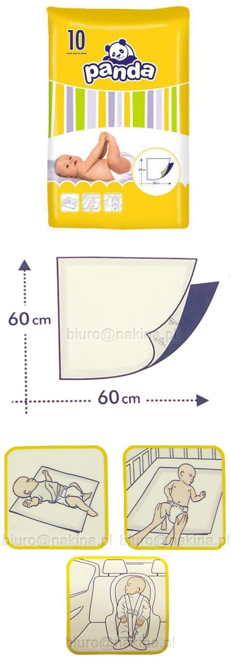 Podkłady jednorazowe PANDA 10sztuk